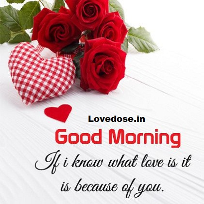 Good morning love images for her