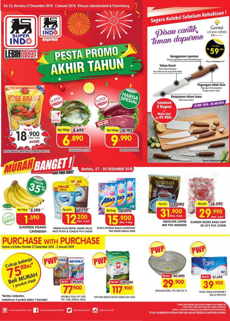 #Superindo - Promo Katalog Akhir Tahun Periode 27 - 02 Januari 2019
