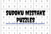 Can you find the mistake in these Sudoku puzzles?