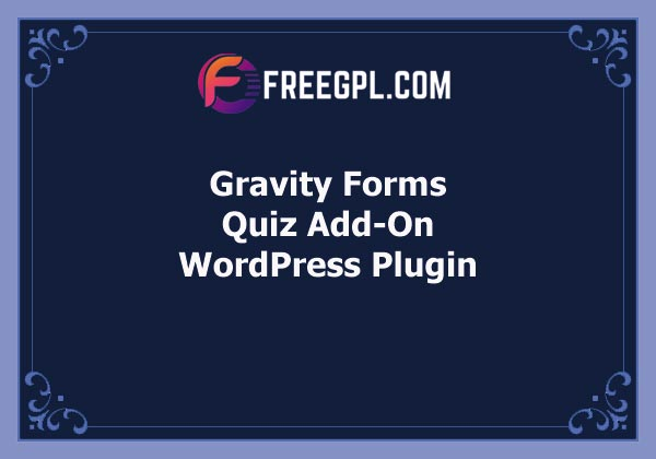 Gravity Forms Quiz Add-On Free Download