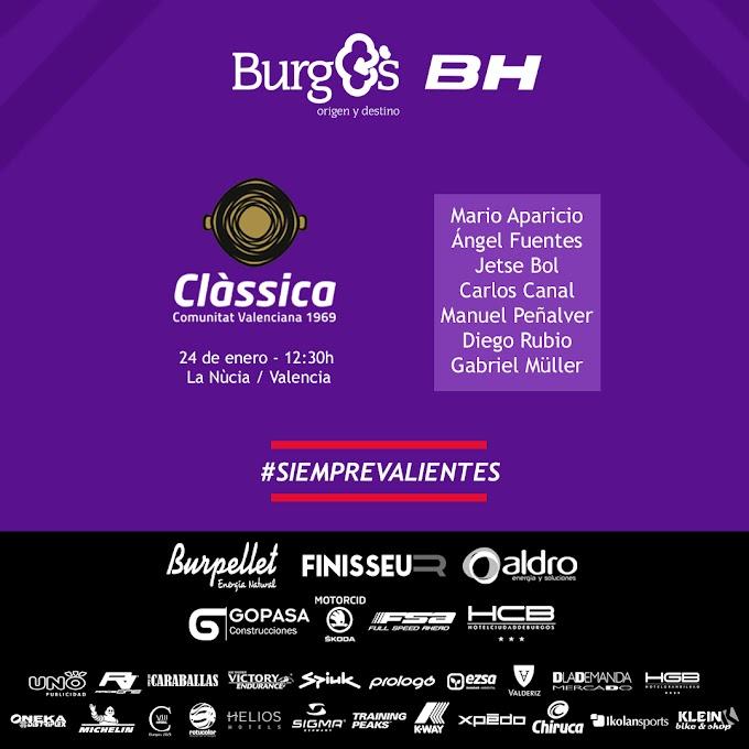 El Burgos - BH vuelve a la competición en la Classica Comunitat Valenciana