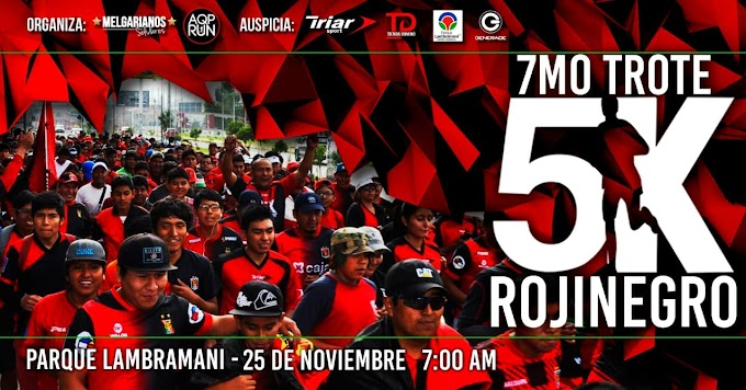 7mo Trote Rojinegro, Arequipa 2018 - 25 de noviembre