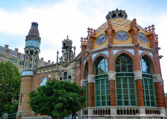 Pavilhão do Hospital de la Santa Creu i Sant Pau, Barcelona