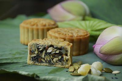 2 công thức làm bánh trung thu eat clean kiểm soát kcal 1