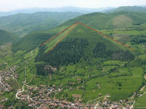 La impresionante Pirámide de Bosnia superaría en tamaño a las Pirámides de Egipto.