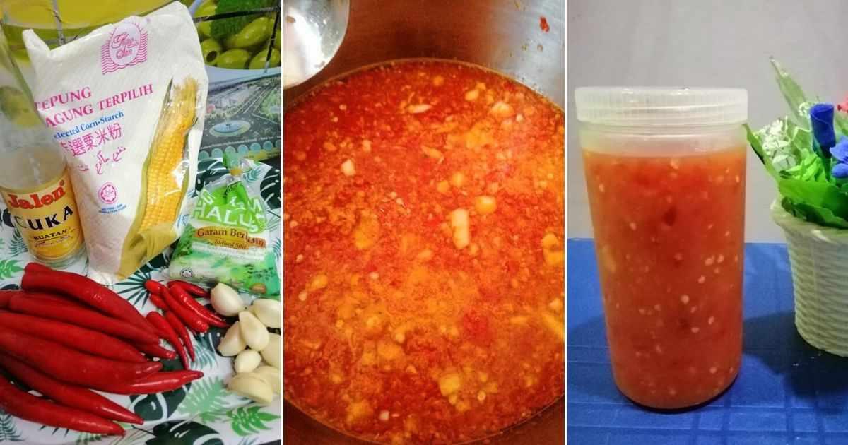 resepi sos cili thai homemade