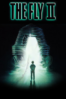 Original poster art for THE FLY II.