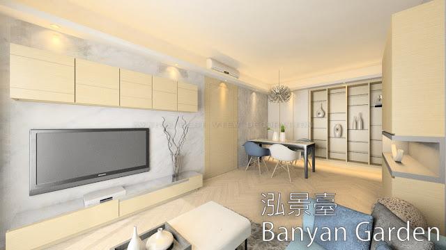 荔枝角 泓景臺 室內設計單位 (Banyan Garden)
