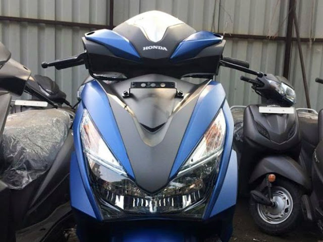 Honda Grazia close up image