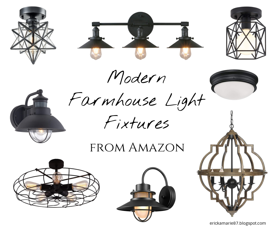 favorite amazon modern farmhouse light