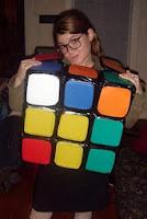 disfraz de cubo magico