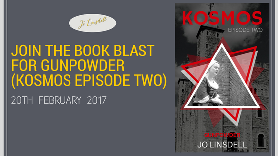 Join the Book Blast for Gunpowder (KOSMOS Episode Two) #KOSMOS