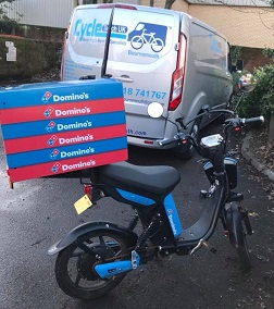 eScooter On-Site Service At Domino's