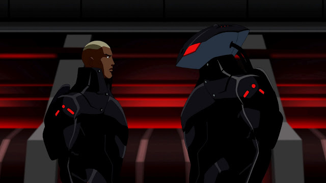 Here we see Dark Helmet and his black son determine how to put an end to that pesky Lone Star once and for all.