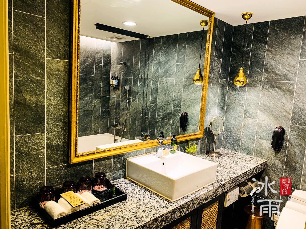 陽明山天籟渡假酒店|歐風草山館 浴室