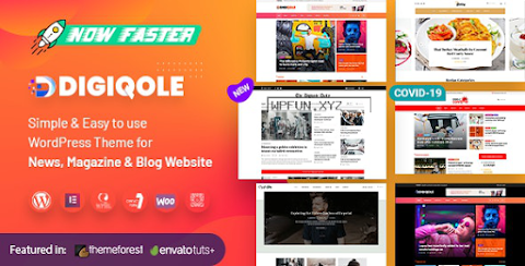 Digiqole v1.4.0 – News Magazine WordPress Themenulled