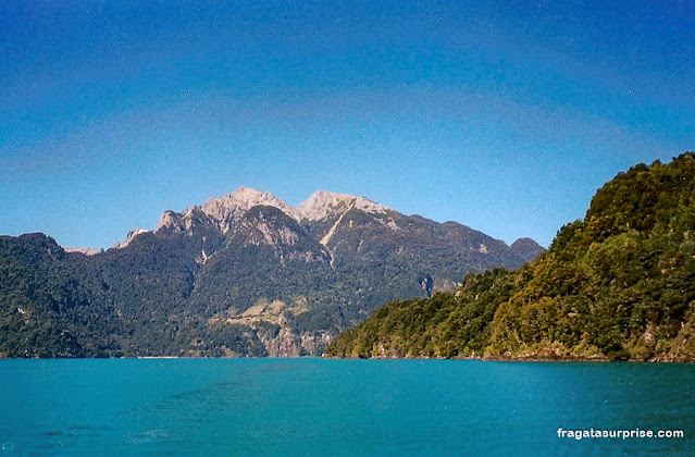 Travessia dos Lagos, Chile