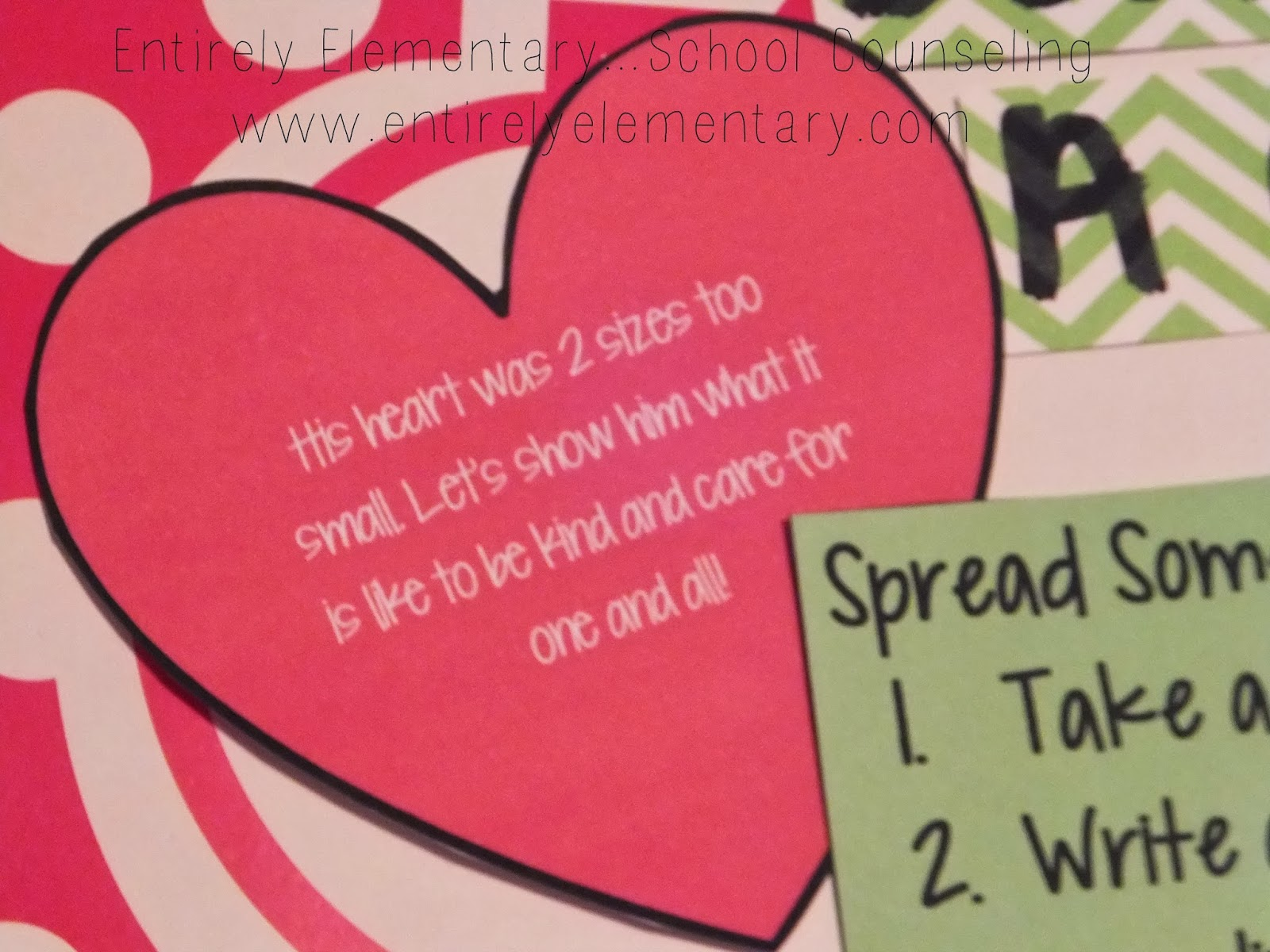Entirely Elementary Hool Counseling Spread Kindness