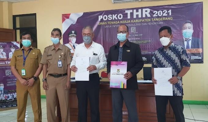 H-7 Lebaran, Posko THR Kabupaten Tangerang Banjir Pengaduan