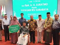 Yayasan RSI Surabaya Dapat Wakaf Tanah Senilai Rp1,2 Miliar