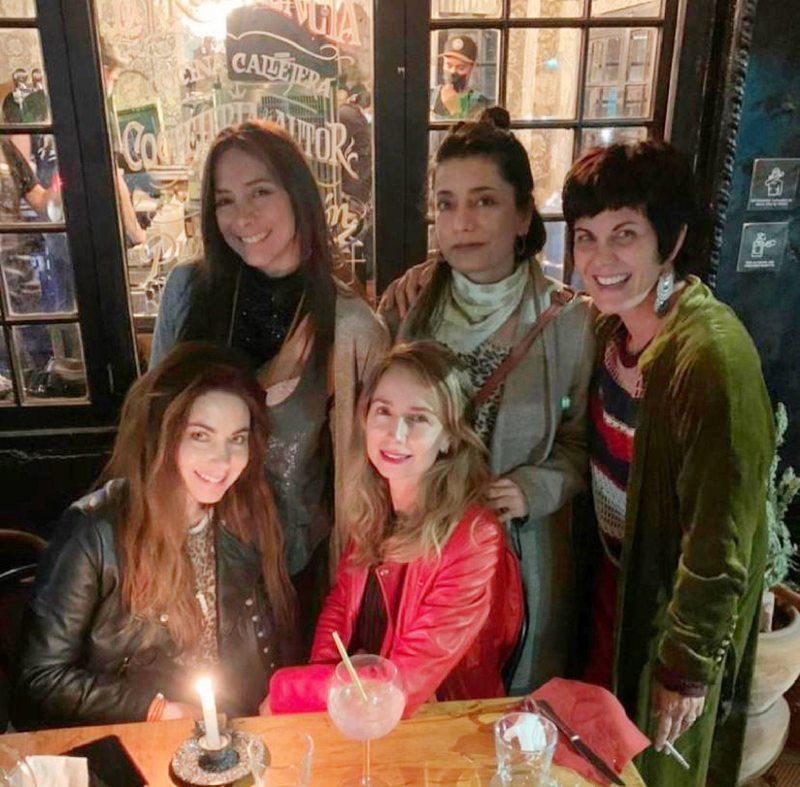 Amigas actrices celebraron a Mónica Godoy