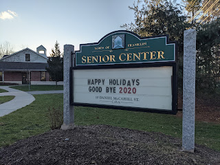 Franklin Senior Center: Email Blast - Jan 8, 2021