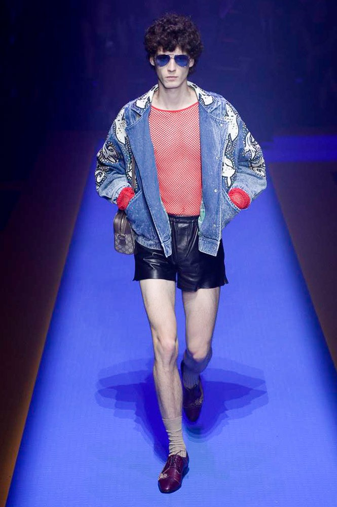 Gucci Spring Summer 2018 Milan Fashion Week Male