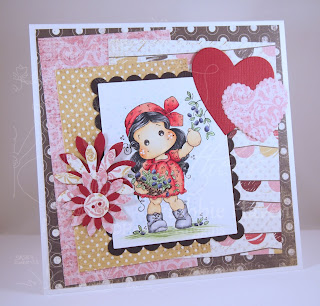 Heather's Hobbie Haven - Olive Tilda Card Kit