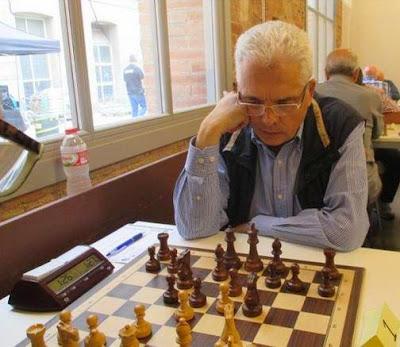 El ajedrecista Emili Simón en 2014