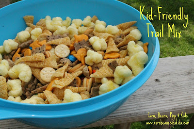 Kid-Friendly Trail Mix Recipe - perfect for your next summertime playdate