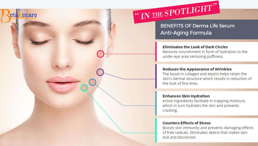 benefits of derma life serum anti aging formula