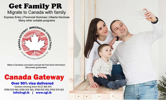 Canada Gateway Lawyers - Family PR for Canada