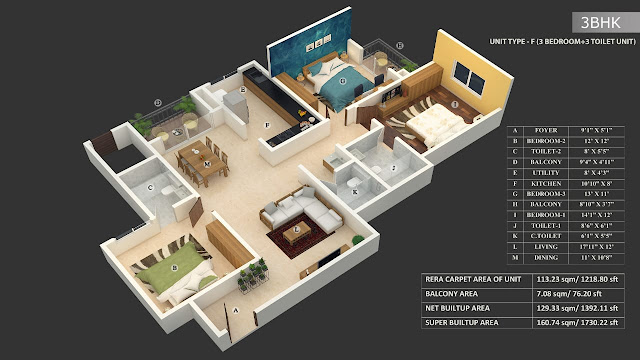 Incor Carmel Heights Floor Plan