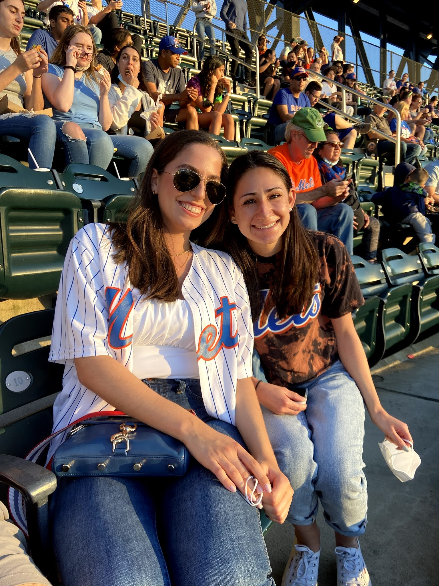 citi field, mets game, friends, new york, baseball game