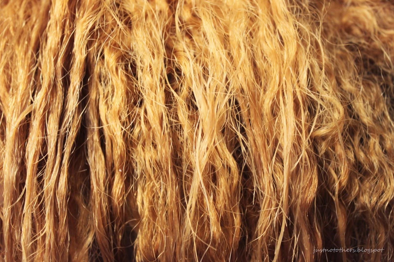 bleaching relaxed hair