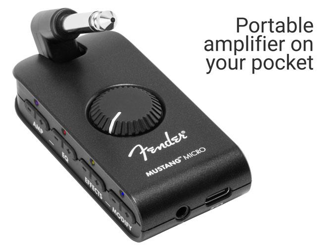 Mustang Micro, Amplifier Portabel dari Fender
