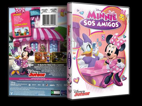 Capa DVD Disney Minnie SOS Amigos [Exclusiva]