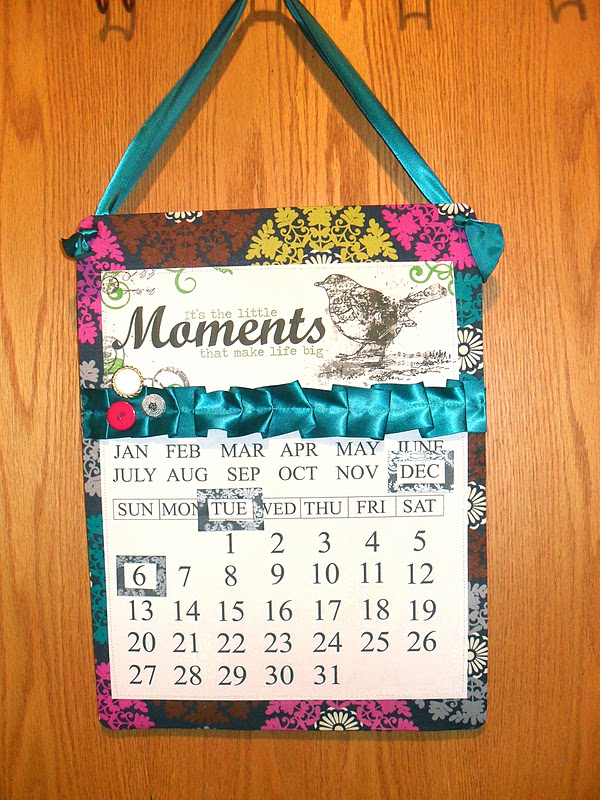 magnetic perpetual calendar {tutorial  printables} Little Birdie