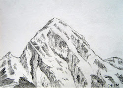 simple sketches mountain mountains everest drawing mount drawn easy draw drawings pencil snowy tattoo really prem paintings useful practice hope