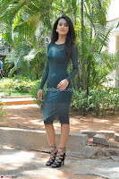 Simran Choudhary Cute beauty with dimples in transparent Green Tight Short Dress ~  Exclusive 006.jpg