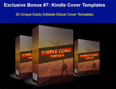 Kindle Cover Templates