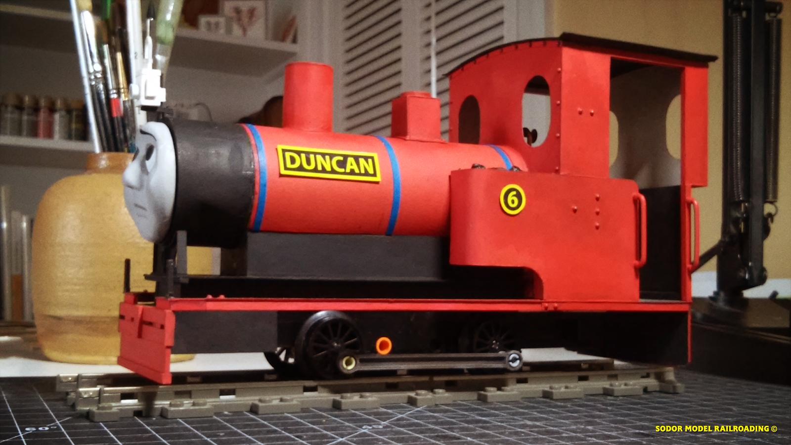 Sodormodelrailroading Scratch Building Duncan 16mm Scale