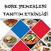 İstanbul - Kore Yemekleri Tanıtım Etkinliği