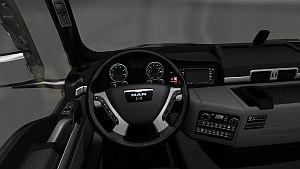 MAN TGX Interior & exterior v1.1
