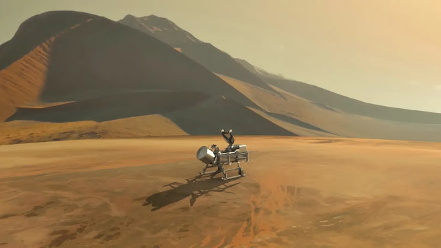 NASA May Decide This Year to Land a Drone on Saturn's Moon Titan