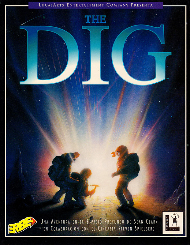 The Dig PC Caja