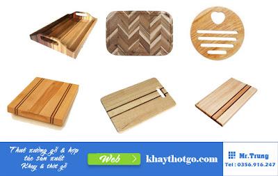 thuê kho xưởng sản xuất khay thớt gỗ