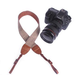 Universal Cotton Camera Strap DSLR Shoulder Neck Belt Strap Flexible Camera Straps for Sony Canon Nikon Pentax Olympus Fujifilm Panasonic