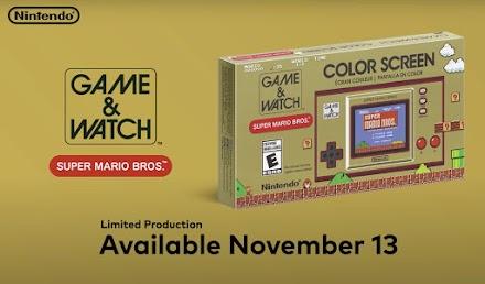 Game & Watch: Super Mario Bros. | Ein limitierter Klassik-Handheld in moderner Ausführung steht in der Pipeline