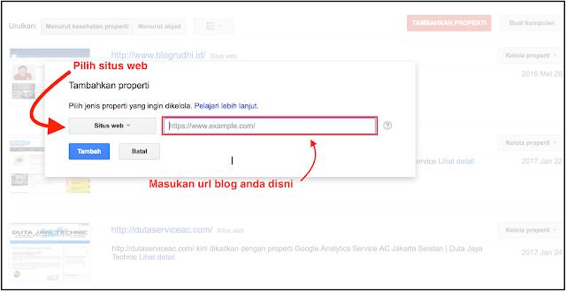 cara daftar blog di google webmaster tools